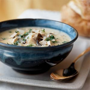 Chicken & Wild Rice Soup - Innergy Corporate Yoga Inc.
